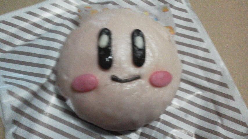 ローソン「カービィまん(マキシムチキントマト味)」