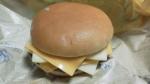 マクドナルド「チーズチーズダブルチーズバーガー」