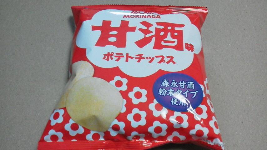山芳製菓「ポテトチップス 甘酒味」