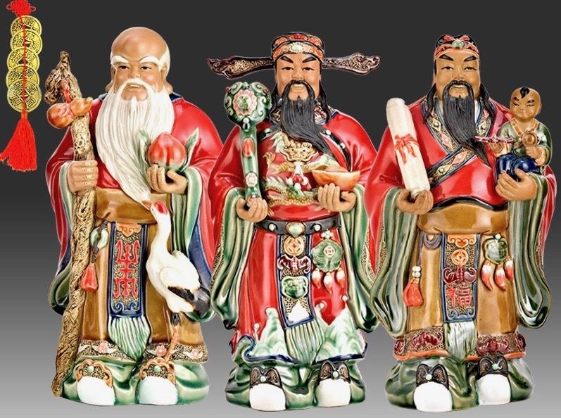 福禄寿三星神と中国八仙人 - 西貢