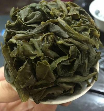 2017年安渓鉄観音秋茶-茶殻