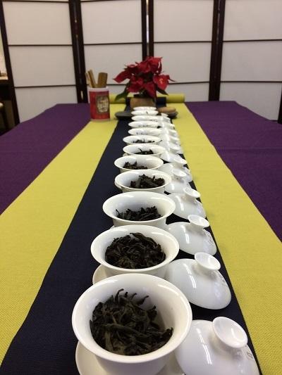 12種類岩茶 2017年