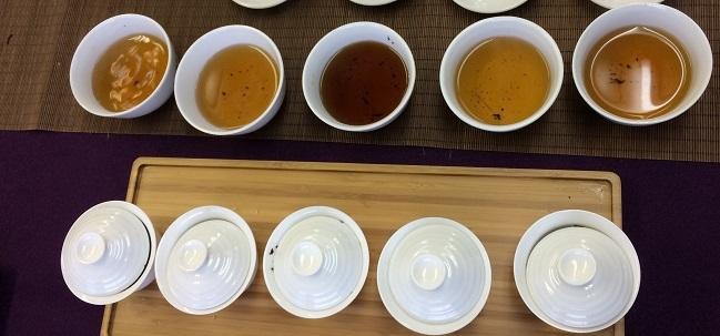 記念茶の飲み比べ