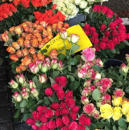 Market flower
