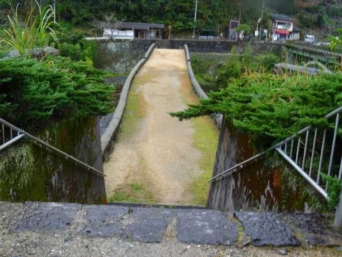 霊台橋を上から見るDSC04937