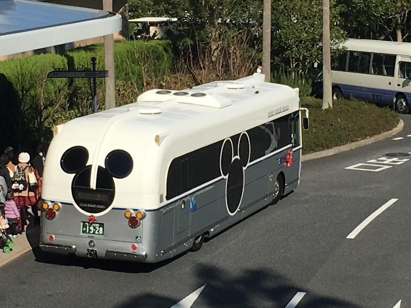 ディズニーリゾート バス