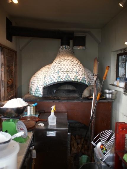 ピッツェリアオーシャン 石窯