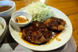 熊本市東区長嶺南の男子食堂/男子ごはんでガッツリハンバーグ!