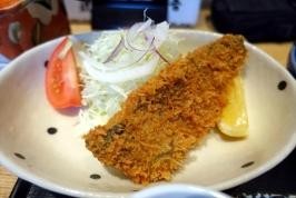 福岡市今泉の魚忠でおいしいゴマサバ定食♪