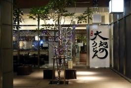 熊本初出店!大地のうどん熊本城店でお得な修行セット♪