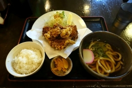 熊本市西区二本木の本家権太楼古町店でお得な日替わり定食。