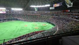 福岡ソフトバンクホークス・ヤフオクドームの柳田選手応援ルーム(スーパーボックス)