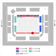 熊本ヴォルターズホームアリーナ・熊本県立総合体育館の座席について