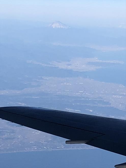 富士山です 雪が少ないかな