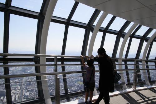 東京タワーが見られたり東京湾が見られたり