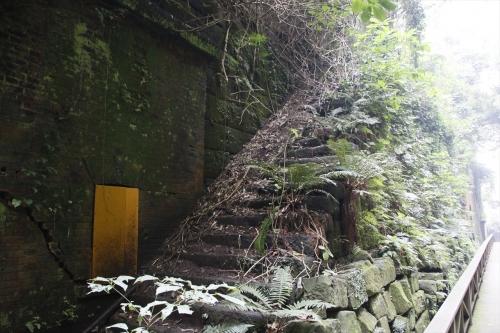 明治時代に造られた階段