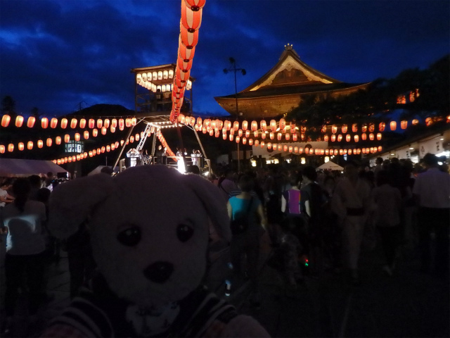 善光寺さまの盆踊り大会