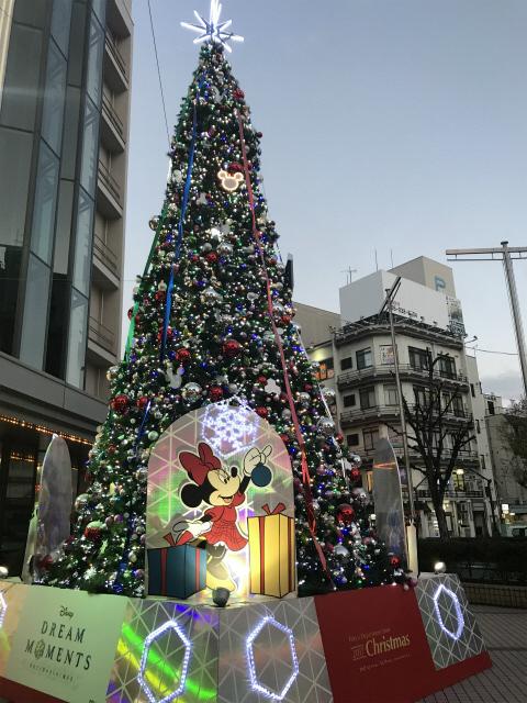 東急百貨店のツリー