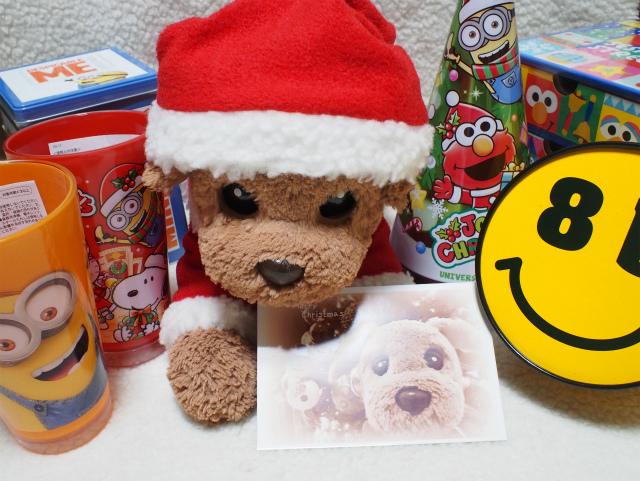 クリスマスプレゼントありがとう