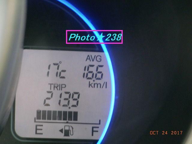 1024出発燃費
