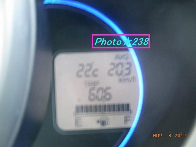 1106出かけの燃費
