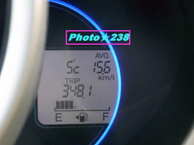 0205出発燃費。