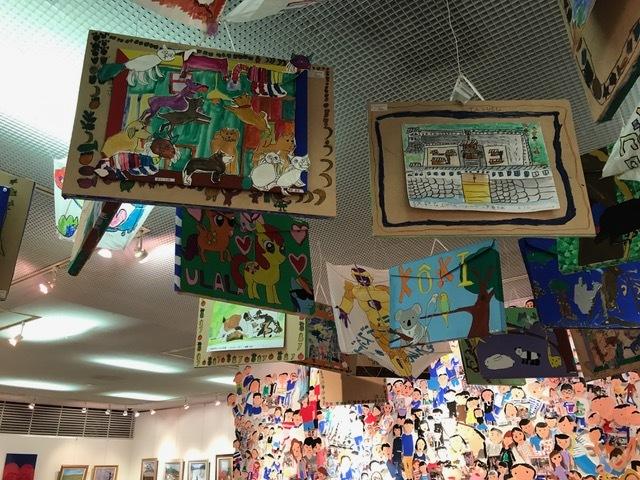 画板天井展示