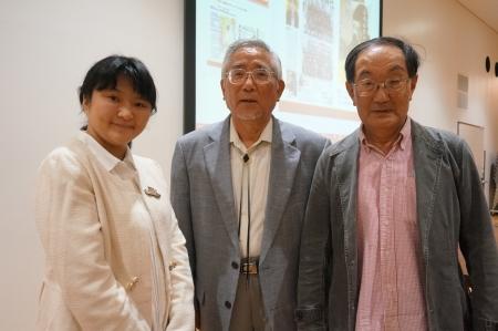 10/7六稜トークリレー 藤目幸擴さん、田中昭さんと