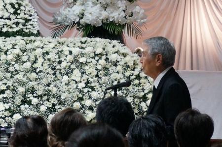 葛西健蔵氏ご葬儀2