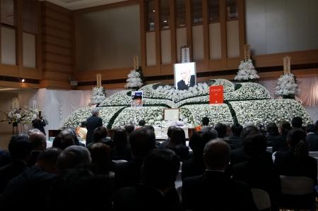 葛西健蔵氏ご葬儀4