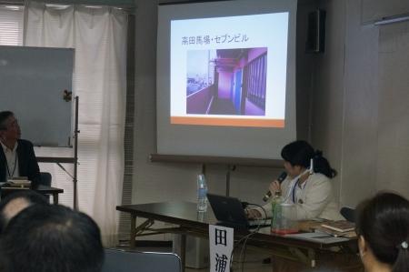 トキワ荘塾14伴俊男さん 手塚先生の部屋の前
