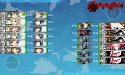 艦これ 2017年秋イベント E-3 第3段階 Boss編成