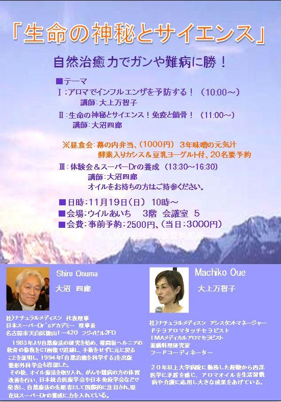 11月のセミナー