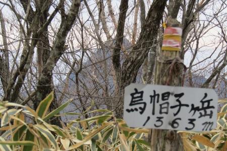 171224烏帽子ヶ岳~鬢櫛山 (10)s
