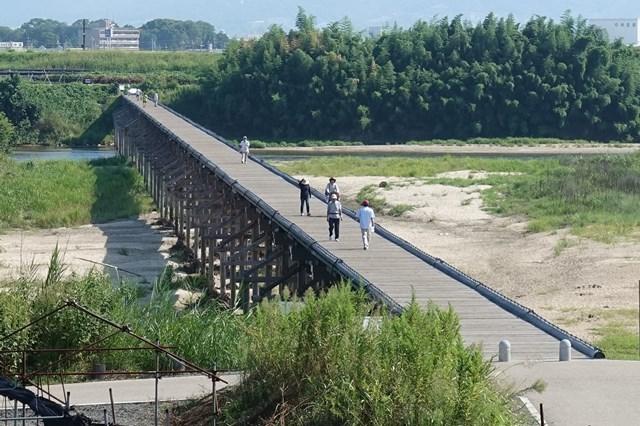 3 上津屋橋(流れ橋) (1)