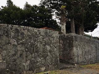 上門の石門と石畳道,南城市,史跡,石畳