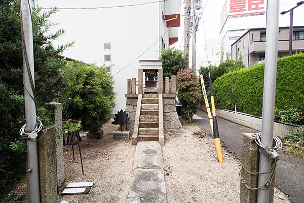 内浜秋葉神社全景