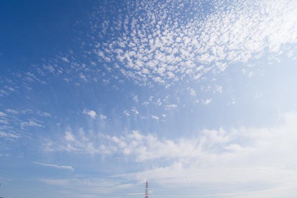 愛知牧場秋の空