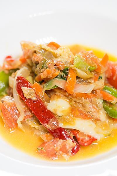 野菜とトマト炒め