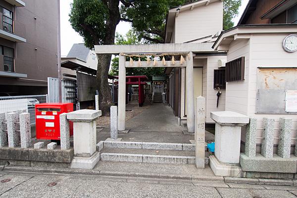 笈瀬町神明社