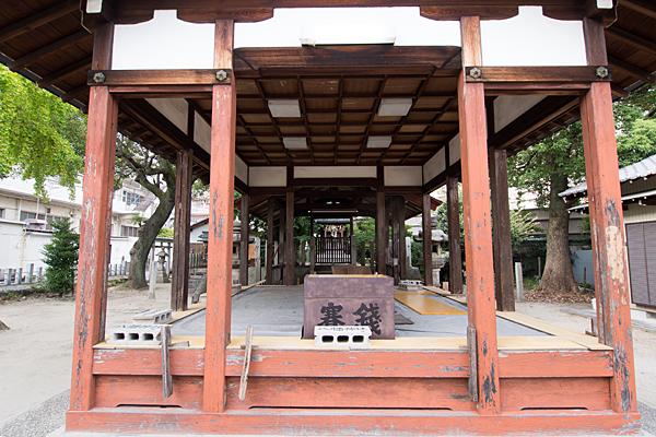 大宝八幡社拝殿