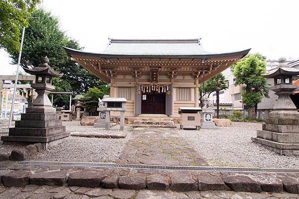 高畑神明社拝殿