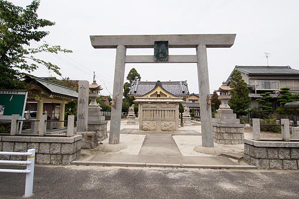 東中島八劔社