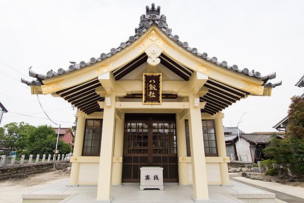 東中島八劔社拝殿