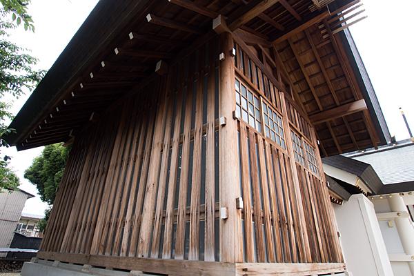 昭和橋通春日神社覆殿