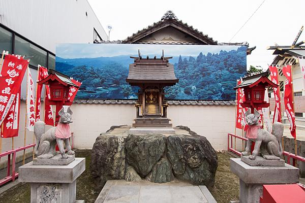昭和橋通春日神社中島稲荷社