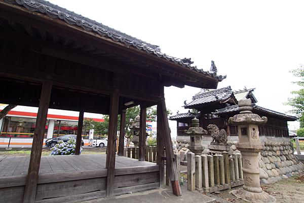 中島新町八劔社社殿