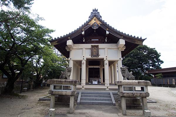 戸田八幡社拝殿