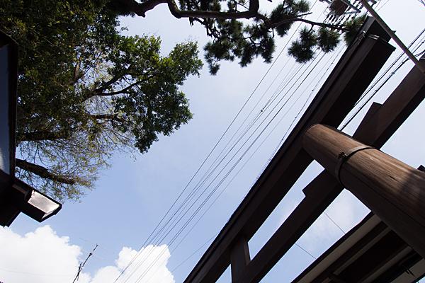 中村本町石神社鳥居