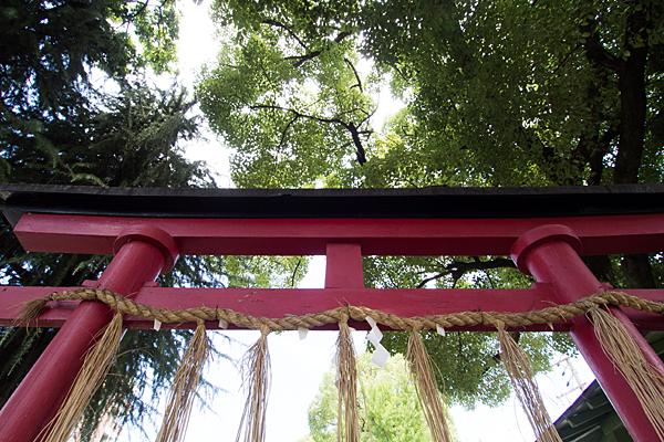 高須賀八劔社鳥居